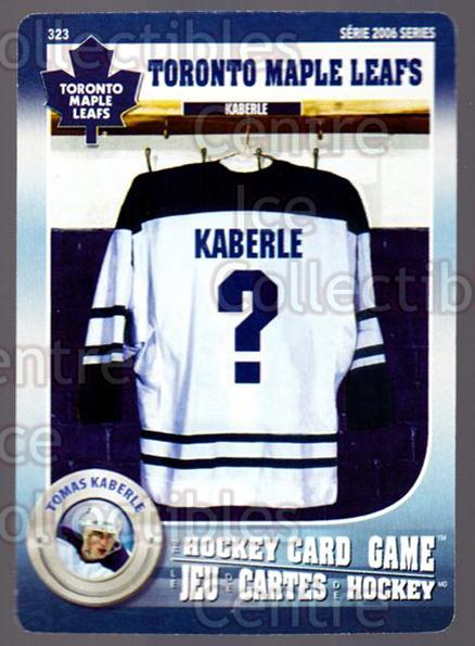 2007-08 Toronto Maple Leafs Hockey Card Game #323 Tomas Kaberle<br/>7 In Stock - $3.00 each - <a href=https://centericecollectibles.foxycart.com/cart?name=2007-08%20Toronto%20Maple%20Leafs%20Hockey%20Card%20Game%20%23323%20Tomas%20Kaberle...&quantity_max=7&price=$3.00&code=230500 class=foxycart> Buy it now! </a>