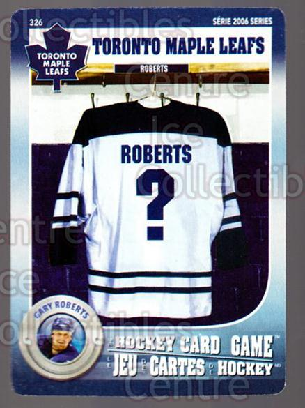 2007-08 Toronto Maple Leafs Hockey Card Game #326 Gary Roberts<br/>5 In Stock - $3.00 each - <a href=https://centericecollectibles.foxycart.com/cart?name=2007-08%20Toronto%20Maple%20Leafs%20Hockey%20Card%20Game%20%23326%20Gary%20Roberts...&quantity_max=5&price=$3.00&code=230503 class=foxycart> Buy it now! </a>