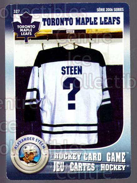 2007-08 Toronto Maple Leafs Hockey Card Game #327 Alexander Steen<br/>2 In Stock - $3.00 each - <a href=https://centericecollectibles.foxycart.com/cart?name=2007-08%20Toronto%20Maple%20Leafs%20Hockey%20Card%20Game%20%23327%20Alexander%20Steen...&quantity_max=2&price=$3.00&code=230504 class=foxycart> Buy it now! </a>