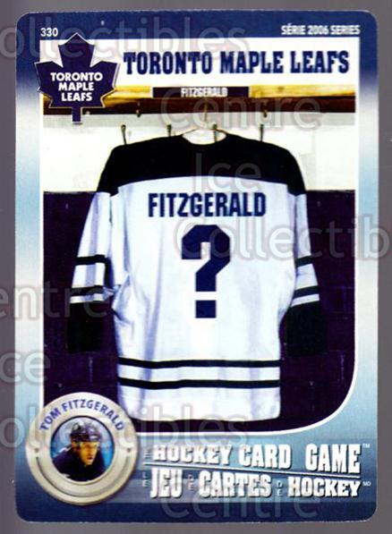 2007-08 Toronto Maple Leafs Hockey Card Game #330 Tom Fitzgerald<br/>7 In Stock - $3.00 each - <a href=https://centericecollectibles.foxycart.com/cart?name=2007-08%20Toronto%20Maple%20Leafs%20Hockey%20Card%20Game%20%23330%20Tom%20Fitzgerald...&quantity_max=7&price=$3.00&code=230507 class=foxycart> Buy it now! </a>