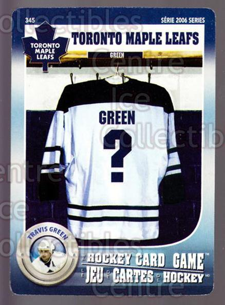 2007-08 Toronto Maple Leafs Hockey Card Game #345 Travis Green<br/>7 In Stock - $3.00 each - <a href=https://centericecollectibles.foxycart.com/cart?name=2007-08%20Toronto%20Maple%20Leafs%20Hockey%20Card%20Game%20%23345%20Travis%20Green...&quantity_max=7&price=$3.00&code=230522 class=foxycart> Buy it now! </a>