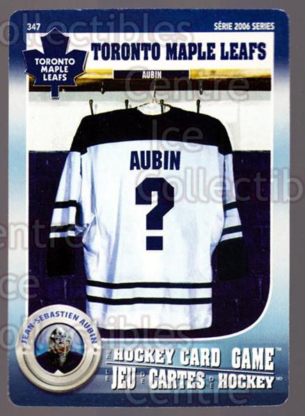 2007-08 Toronto Maple Leafs Hockey Card Game #347 Jean-Sebastien Aubin<br/>3 In Stock - $3.00 each - <a href=https://centericecollectibles.foxycart.com/cart?name=2007-08%20Toronto%20Maple%20Leafs%20Hockey%20Card%20Game%20%23347%20Jean-Sebastien%20...&quantity_max=3&price=$3.00&code=230524 class=foxycart> Buy it now! </a>