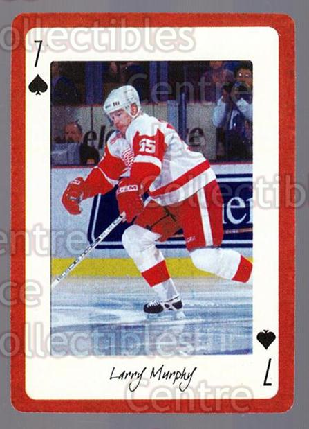 2005 Detroit Red Wings Legends Playing Card #7 Larry Murphy<br/>3 In Stock - $2.00 each - <a href=https://centericecollectibles.foxycart.com/cart?name=2005%20Detroit%20Red%20Wings%20Legends%20Playing%20Card%20%237%20Larry%20Murphy...&quantity_max=3&price=$2.00&code=230586 class=foxycart> Buy it now! </a>