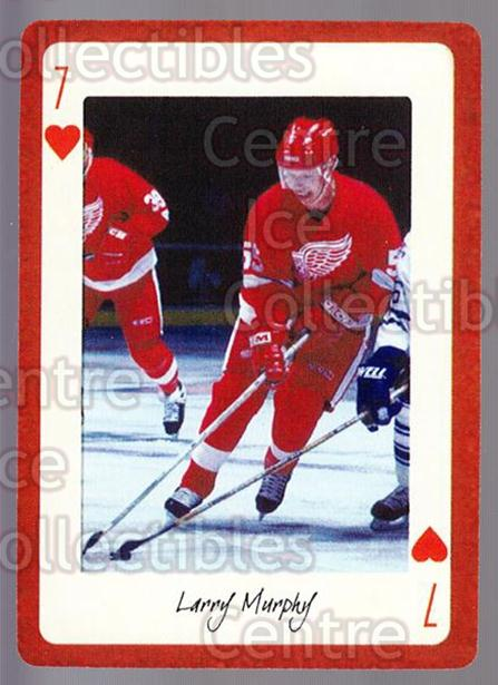 2005 Detroit Red Wings Legends Playing Card #20 Larry Murphy<br/>3 In Stock - $2.00 each - <a href=https://centericecollectibles.foxycart.com/cart?name=2005%20Detroit%20Red%20Wings%20Legends%20Playing%20Card%20%2320%20Larry%20Murphy...&quantity_max=3&price=$2.00&code=230599 class=foxycart> Buy it now! </a>