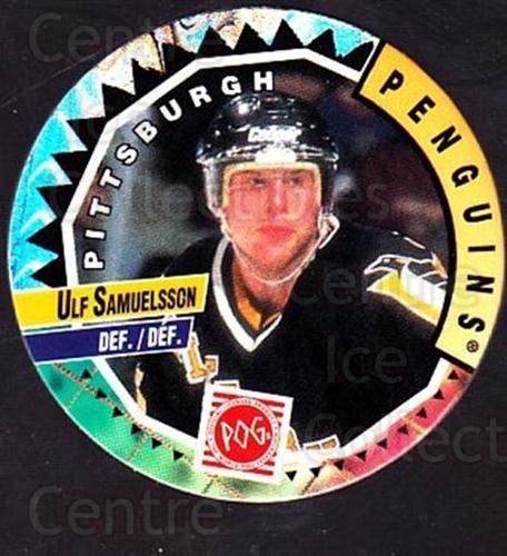1994-95 Canada Games NHL POGS #193 Ulf Samuelsson<br/>4 In Stock - $1.00 each - <a href=https://centericecollectibles.foxycart.com/cart?name=1994-95%20Canada%20Games%20NHL%20POGS%20%23193%20Ulf%20Samuelsson...&quantity_max=4&price=$1.00&code=2305 class=foxycart> Buy it now! </a>