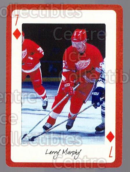2005 Detroit Red Wings Legends Playing Card #46 Larry Murphy<br/>3 In Stock - $2.00 each - <a href=https://centericecollectibles.foxycart.com/cart?name=2005%20Detroit%20Red%20Wings%20Legends%20Playing%20Card%20%2346%20Larry%20Murphy...&quantity_max=3&price=$2.00&code=230625 class=foxycart> Buy it now! </a>