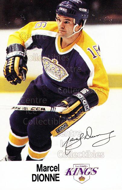 1988-89 Esso #8 Marcel Dionne<br/>18 In Stock - $2.00 each - <a href=https://centericecollectibles.foxycart.com/cart?name=1988-89%20Esso%20%238%20Marcel%20Dionne...&quantity_max=18&price=$2.00&code=23062 class=foxycart> Buy it now! </a>