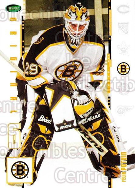 2003-04 Parkhurst Original Six Boston Bruins #5 Felix Potvin<br/>6 In Stock - $1.00 each - <a href=https://centericecollectibles.foxycart.com/cart?name=2003-04%20Parkhurst%20Original%20Six%20Boston%20Bruins%20%235%20Felix%20Potvin...&quantity_max=6&price=$1.00&code=230806 class=foxycart> Buy it now! </a>