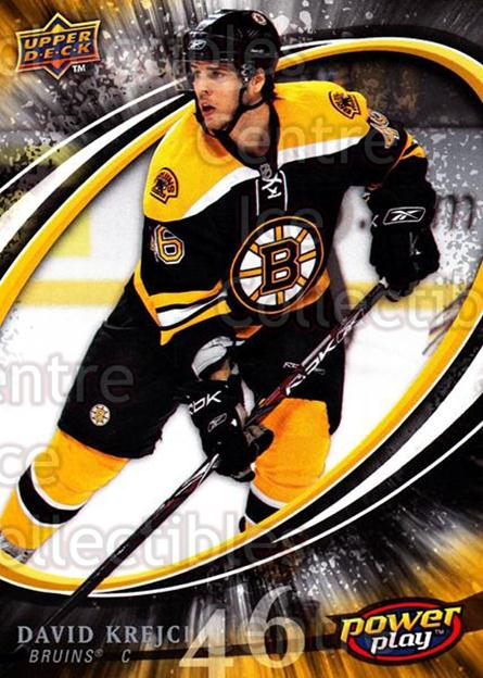 2008-09 UD Power Play #21 David Krejci<br/>5 In Stock - $1.00 each - <a href=https://centericecollectibles.foxycart.com/cart?name=2008-09%20UD%20Power%20Play%20%2321%20David%20Krejci...&quantity_max=5&price=$1.00&code=230850 class=foxycart> Buy it now! </a>
