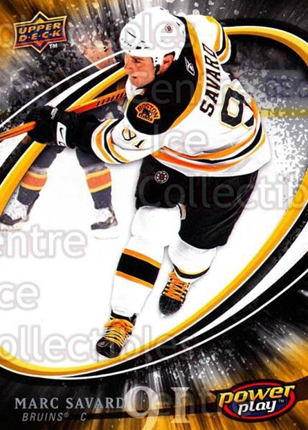 2008-09 UD Power Play #25 Marc Savard<br/>5 In Stock - $1.00 each - <a href=https://centericecollectibles.foxycart.com/cart?name=2008-09%20UD%20Power%20Play%20%2325%20Marc%20Savard...&quantity_max=5&price=$1.00&code=230854 class=foxycart> Buy it now! </a>