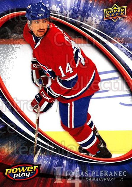2008-09 UD Power Play #157 Tomas Plekanec<br/>4 In Stock - $1.00 each - <a href=https://centericecollectibles.foxycart.com/cart?name=2008-09%20UD%20Power%20Play%20%23157%20Tomas%20Plekanec...&quantity_max=4&price=$1.00&code=230986 class=foxycart> Buy it now! </a>