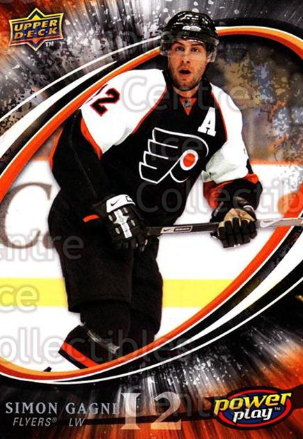 2008-09 UD Power Play #216 Simon Gagne<br/>5 In Stock - $1.00 each - <a href=https://centericecollectibles.foxycart.com/cart?name=2008-09%20UD%20Power%20Play%20%23216%20Simon%20Gagne...&quantity_max=5&price=$1.00&code=231045 class=foxycart> Buy it now! </a>