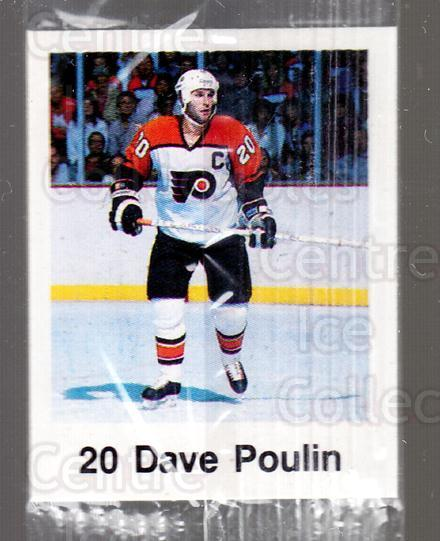 1988-89 Frito-Lay Stickers #27 Dave Poulin<br/>5 In Stock - $3.00 each - <a href=https://centericecollectibles.foxycart.com/cart?name=1988-89%20Frito-Lay%20Stickers%20%2327%20Dave%20Poulin...&quantity_max=5&price=$3.00&code=23107 class=foxycart> Buy it now! </a>