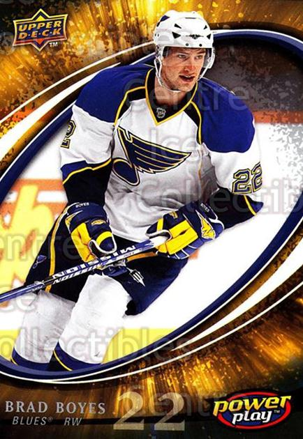 2008-09 UD Power Play #257 Brad Boyes<br/>5 In Stock - $1.00 each - <a href=https://centericecollectibles.foxycart.com/cart?name=2008-09%20UD%20Power%20Play%20%23257%20Brad%20Boyes...&quantity_max=5&price=$1.00&code=231086 class=foxycart> Buy it now! </a>