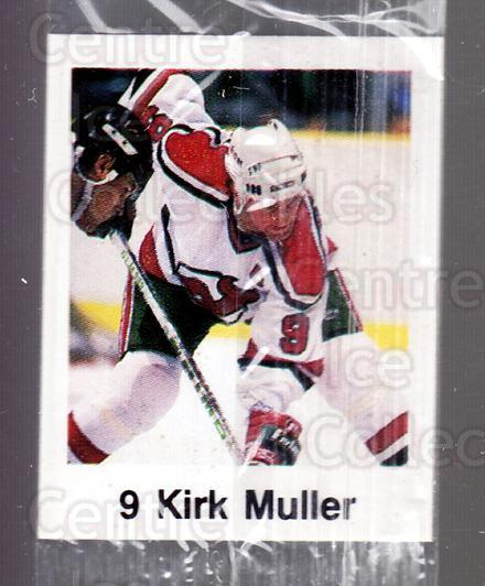 1988-89 Frito-Lay Stickers #33 Kirk Muller<br/>5 In Stock - $3.00 each - <a href=https://centericecollectibles.foxycart.com/cart?name=1988-89%20Frito-Lay%20Stickers%20%2333%20Kirk%20Muller...&quantity_max=5&price=$3.00&code=23110 class=foxycart> Buy it now! </a>