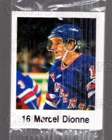 1988-89 Frito-Lay Stickers #34 Marcel Dionne<br/>1 In Stock - $3.00 each - <a href=https://centericecollectibles.foxycart.com/cart?name=1988-89%20Frito-Lay%20Stickers%20%2334%20Marcel%20Dionne...&quantity_max=1&price=$3.00&code=23111 class=foxycart> Buy it now! </a>