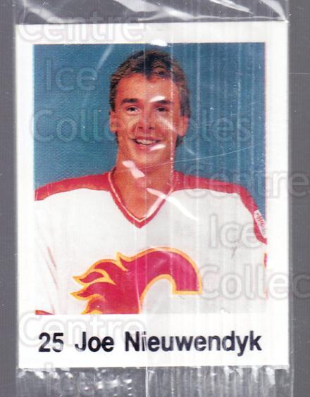 1988-89 Frito-Lay Stickers #36 Joe Nieuwendyk<br/>5 In Stock - $3.00 each - <a href=https://centericecollectibles.foxycart.com/cart?name=1988-89%20Frito-Lay%20Stickers%20%2336%20Joe%20Nieuwendyk...&quantity_max=5&price=$3.00&code=23112 class=foxycart> Buy it now! </a>