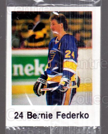 1988-89 Frito-Lay Stickers #4 Bernie Federko<br/>9 In Stock - $3.00 each - <a href=https://centericecollectibles.foxycart.com/cart?name=1988-89%20Frito-Lay%20Stickers%20%234%20Bernie%20Federko...&quantity_max=9&price=$3.00&code=23115 class=foxycart> Buy it now! </a>