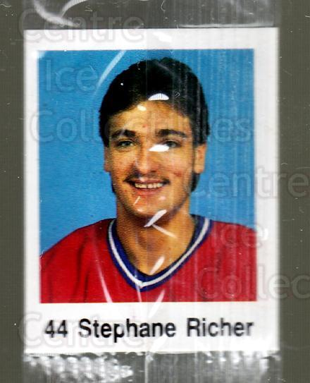 1988-89 Frito-Lay Stickers #40 Stephane Richer<br/>5 In Stock - $3.00 each - <a href=https://centericecollectibles.foxycart.com/cart?name=1988-89%20Frito-Lay%20Stickers%20%2340%20Stephane%20Richer...&quantity_max=5&price=$3.00&code=23116 class=foxycart> Buy it now! </a>