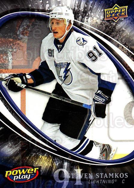 2008-09 UD Power Play #387 Steven Stamkos<br/>3 In Stock - $10.00 each - <a href=https://centericecollectibles.foxycart.com/cart?name=2008-09%20UD%20Power%20Play%20%23387%20Steven%20Stamkos...&price=$10.00&code=231216 class=foxycart> Buy it now! </a>
