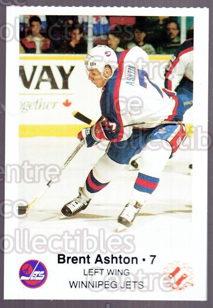 1988-89 Winnipeg Jets Police #1 Brent Ashton<br/>4 In Stock - $3.00 each - <a href=https://centericecollectibles.foxycart.com/cart?name=1988-89%20Winnipeg%20Jets%20Police%20%231%20Brent%20Ashton...&quantity_max=4&price=$3.00&code=23123 class=foxycart> Buy it now! </a>