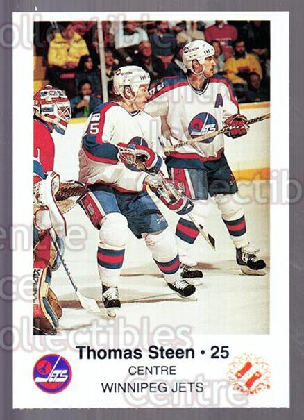 1988-89 Winnipeg Jets Police #21 Thomas Steen<br/>4 In Stock - $3.00 each - <a href=https://centericecollectibles.foxycart.com/cart?name=1988-89%20Winnipeg%20Jets%20Police%20%2321%20Thomas%20Steen...&quantity_max=4&price=$3.00&code=23134 class=foxycart> Buy it now! </a>