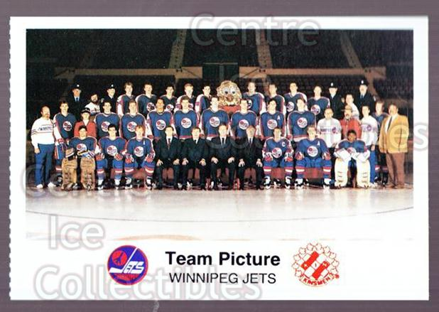 1988-89 Winnipeg Jets Police #24 Winnipeg Jets, Team Photo<br/>3 In Stock - $2.00 each - <a href=https://centericecollectibles.foxycart.com/cart?name=1988-89%20Winnipeg%20Jets%20Police%20%2324%20Winnipeg%20Jets,%20...&price=$2.00&code=23137 class=foxycart> Buy it now! </a>