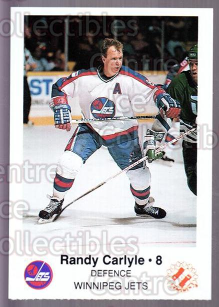 1988-89 Winnipeg Jets Police #3 Randy Carlyle<br/>5 In Stock - $3.00 each - <a href=https://centericecollectibles.foxycart.com/cart?name=1988-89%20Winnipeg%20Jets%20Police%20%233%20Randy%20Carlyle...&quantity_max=5&price=$3.00&code=23138 class=foxycart> Buy it now! </a>