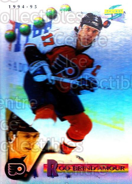 1994-95 Score Platinum #132 Rod Brind'Amour<br/>1 In Stock - $2.00 each - <a href=https://centericecollectibles.foxycart.com/cart?name=1994-95%20Score%20Platinum%20%23132%20Rod%20Brind'Amour...&quantity_max=1&price=$2.00&code=231486 class=foxycart> Buy it now! </a>