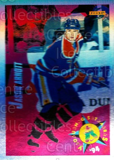 1994-95 Score Platinum #254 Jason Arnott<br/>4 In Stock - $2.00 each - <a href=https://centericecollectibles.foxycart.com/cart?name=1994-95%20Score%20Platinum%20%23254%20Jason%20Arnott...&quantity_max=4&price=$2.00&code=231608 class=foxycart> Buy it now! </a>