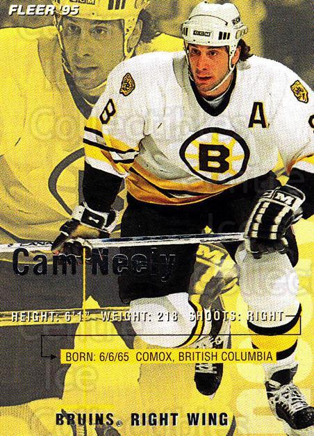 1994-95 Fleer #15 Cam Neely<br/>4 In Stock - $1.00 each - <a href=https://centericecollectibles.foxycart.com/cart?name=1994-95%20Fleer%20%2315%20Cam%20Neely...&quantity_max=4&price=$1.00&code=231631 class=foxycart> Buy it now! </a>