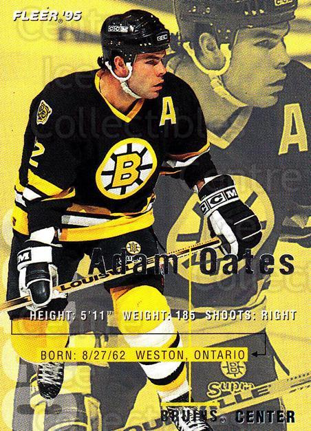 1994-95 Fleer #16 Adam Oates<br/>5 In Stock - $1.00 each - <a href=https://centericecollectibles.foxycart.com/cart?name=1994-95%20Fleer%20%2316%20Adam%20Oates...&quantity_max=5&price=$1.00&code=231632 class=foxycart> Buy it now! </a>