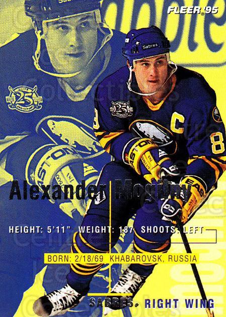 1994-95 Fleer #25 Alexander Mogilny<br/>5 In Stock - $1.00 each - <a href=https://centericecollectibles.foxycart.com/cart?name=1994-95%20Fleer%20%2325%20Alexander%20Mogil...&quantity_max=5&price=$1.00&code=231641 class=foxycart> Buy it now! </a>