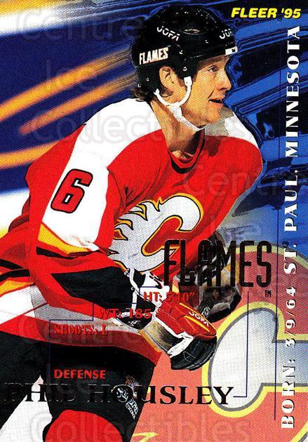 1994-95 Fleer #30 Phil Housley<br/>5 In Stock - $1.00 each - <a href=https://centericecollectibles.foxycart.com/cart?name=1994-95%20Fleer%20%2330%20Phil%20Housley...&quantity_max=5&price=$1.00&code=231646 class=foxycart> Buy it now! </a>