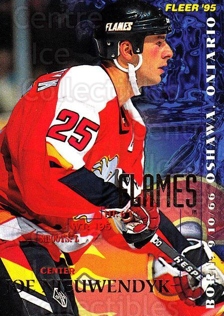 1994-95 Fleer #32 Joe Nieuwendyk<br/>5 In Stock - $1.00 each - <a href=https://centericecollectibles.foxycart.com/cart?name=1994-95%20Fleer%20%2332%20Joe%20Nieuwendyk...&quantity_max=5&price=$1.00&code=231648 class=foxycart> Buy it now! </a>