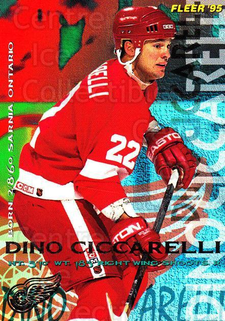 1994-95 Fleer #57 Dino Ciccarelli<br/>5 In Stock - $1.00 each - <a href=https://centericecollectibles.foxycart.com/cart?name=1994-95%20Fleer%20%2357%20Dino%20Ciccarelli...&quantity_max=5&price=$1.00&code=231673 class=foxycart> Buy it now! </a>