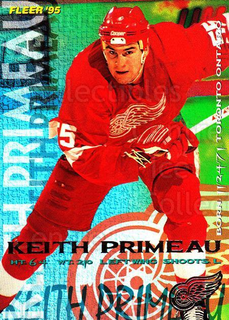1994-95 Fleer #64 Keith Primeau<br/>5 In Stock - $1.00 each - <a href=https://centericecollectibles.foxycart.com/cart?name=1994-95%20Fleer%20%2364%20Keith%20Primeau...&quantity_max=5&price=$1.00&code=231680 class=foxycart> Buy it now! </a>
