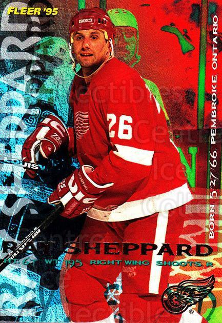 1994-95 Fleer #65 Ray Sheppard<br/>5 In Stock - $1.00 each - <a href=https://centericecollectibles.foxycart.com/cart?name=1994-95%20Fleer%20%2365%20Ray%20Sheppard...&quantity_max=5&price=$1.00&code=231681 class=foxycart> Buy it now! </a>