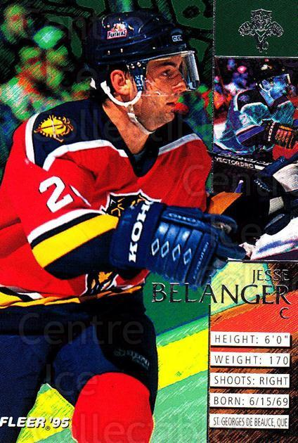 1994-95 Fleer #77 Jesse Belanger<br/>4 In Stock - $1.00 each - <a href=https://centericecollectibles.foxycart.com/cart?name=1994-95%20Fleer%20%2377%20Jesse%20Belanger...&quantity_max=4&price=$1.00&code=231693 class=foxycart> Buy it now! </a>