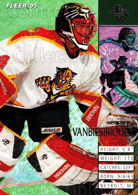 1994-95 Fleer #83 John Vanbiesbrouck<br/>2 In Stock - $1.00 each - <a href=https://centericecollectibles.foxycart.com/cart?name=1994-95%20Fleer%20%2383%20John%20Vanbiesbro...&quantity_max=2&price=$1.00&code=231699 class=foxycart> Buy it now! </a>