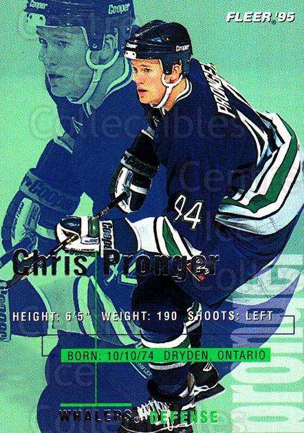 1994-95 Fleer #88 Chris Pronger<br/>5 In Stock - $1.00 each - <a href=https://centericecollectibles.foxycart.com/cart?name=1994-95%20Fleer%20%2388%20Chris%20Pronger...&quantity_max=5&price=$1.00&code=231704 class=foxycart> Buy it now! </a>