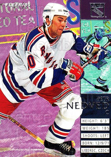 1994-95 Fleer #137 Petr Nedved<br/>5 In Stock - $1.00 each - <a href=https://centericecollectibles.foxycart.com/cart?name=1994-95%20Fleer%20%23137%20Petr%20Nedved...&quantity_max=5&price=$1.00&code=231753 class=foxycart> Buy it now! </a>