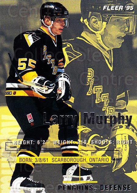 1994-95 Fleer #166 Larry Murphy<br/>5 In Stock - $1.00 each - <a href=https://centericecollectibles.foxycart.com/cart?name=1994-95%20Fleer%20%23166%20Larry%20Murphy...&quantity_max=5&price=$1.00&code=231782 class=foxycart> Buy it now! </a>