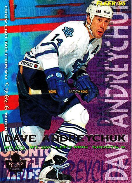 1994-95 Fleer #212 Dave Andreychuk<br/>3 In Stock - $1.00 each - <a href=https://centericecollectibles.foxycart.com/cart?name=1994-95%20Fleer%20%23212%20Dave%20Andreychuk...&quantity_max=3&price=$1.00&code=231828 class=foxycart> Buy it now! </a>