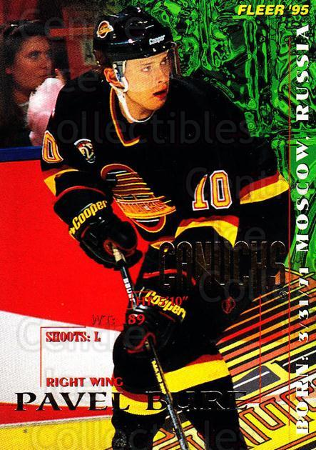 1994-95 Fleer #223 Pavel Bure<br/>4 In Stock - $1.00 each - <a href=https://centericecollectibles.foxycart.com/cart?name=1994-95%20Fleer%20%23223%20Pavel%20Bure...&quantity_max=4&price=$1.00&code=231839 class=foxycart> Buy it now! </a>