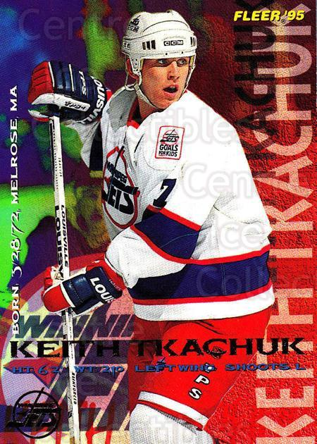 1994-95 Fleer #246 Keith Tkachuk<br/>5 In Stock - $1.00 each - <a href=https://centericecollectibles.foxycart.com/cart?name=1994-95%20Fleer%20%23246%20Keith%20Tkachuk...&quantity_max=5&price=$1.00&code=231862 class=foxycart> Buy it now! </a>