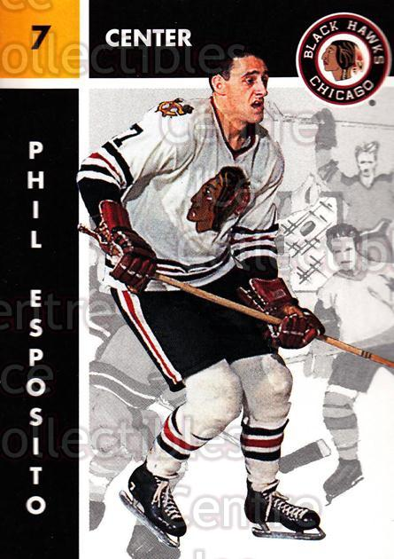 1995 Parkhurst 66-67 #33 Phil Esposito<br/>1 In Stock - $2.00 each - <a href=https://centericecollectibles.foxycart.com/cart?name=1995%20Parkhurst%2066-67%20%2333%20Phil%20Esposito...&quantity_max=1&price=$2.00&code=231886 class=foxycart> Buy it now! </a>
