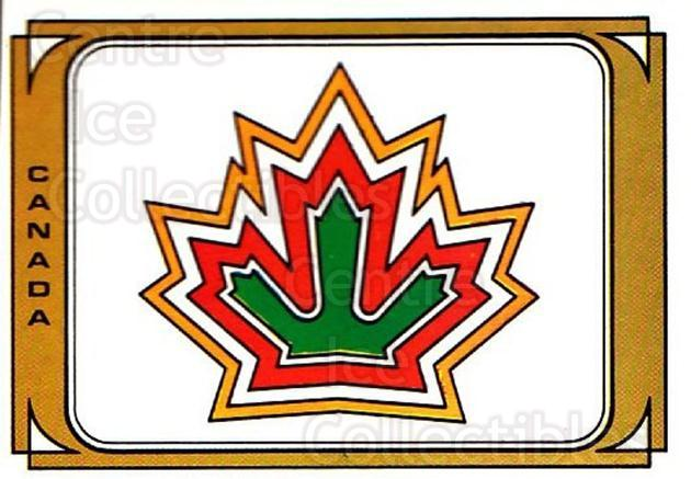 1979 Panini Stickers #44 Team Canada<br/>2 In Stock - $2.00 each - <a href=https://centericecollectibles.foxycart.com/cart?name=1979%20Panini%20Stickers%20%2344%20Team%20Canada...&quantity_max=2&price=$2.00&code=231950 class=foxycart> Buy it now! </a>