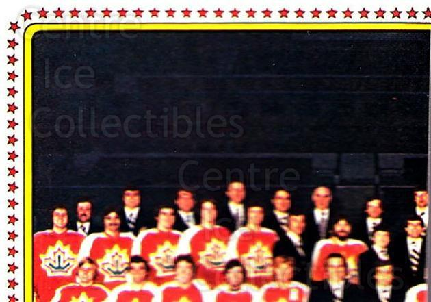 1979 Panini Stickers #48 Team Canada, Team Photo<br/>6 In Stock - $2.00 each - <a href=https://centericecollectibles.foxycart.com/cart?name=1979%20Panini%20Stickers%20%2348%20Team%20Canada,%20Te...&quantity_max=6&price=$2.00&code=231954 class=foxycart> Buy it now! </a>