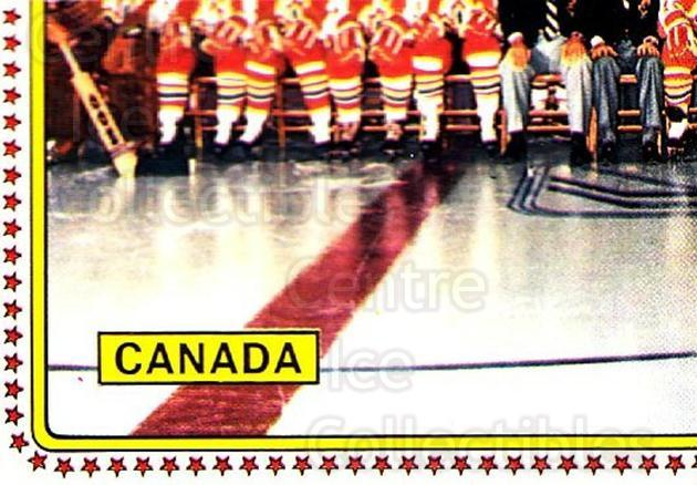 1979 Panini Stickers #50 Team Canada, Team Photo<br/>9 In Stock - $2.00 each - <a href=https://centericecollectibles.foxycart.com/cart?name=1979%20Panini%20Stickers%20%2350%20Team%20Canada,%20Te...&quantity_max=9&price=$2.00&code=231956 class=foxycart> Buy it now! </a>